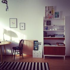 small IKEA chest, painted white