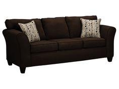 Dazzle Chocolate Sofa
