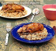 Hamam Mahshi: Rice Stuffed Pigeons طريقة الحمام المحشي بالأرز | Food Lover مطبخ جوليا العرب