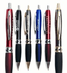 #Corporatepens help a lot to boost your company's brand recognition. Take a look at Xpress Jewel PX DBF which a cutting edge deluxe metal pen style with a comfortable rubber grip. These pens are available in a variety of colors from black, blue, red and gunmetal. Contact us today to order. #PromotionalPens
