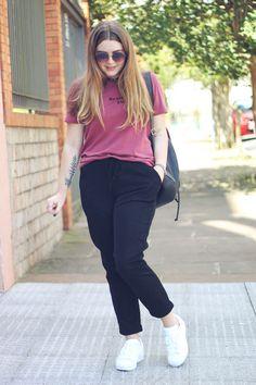 Plus Size Fashion Advice - Flaunt Your Curves Right! Looks Plus Size, Look Plus, Look Fashion, Korean Fashion, Fashion Outfits, Curvy Girl Outfits, Plus Size Outfits, Chubby Girl Fashion, Look Adidas