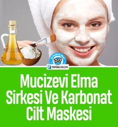 Miraculous Apple Vinegar and Carbonate Skin Mask - Miraculous .- Mucizevi Elma Sirkesi ve Karbonat Cilt Maskesi- Mucizevi Elma Sirkesi ve Ka… Miraculous Apple Vinegar and Carbonate Skin Mask – Miraculous Apple Vinegar and Carbonate Skin Mask care, – - Beauty Care, Beauty Skin, Beauty Hacks, Beauty Makeup, Skin Mask, Face Skin, Homemade Skin Care, Homemade Beauty, Baking Soda Mask