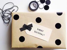 polka dots & washi tape