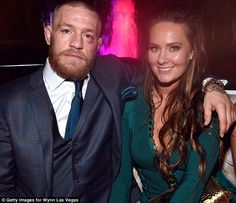 McGregor celebrated his win with girlfriend Dee Devlin at Intrigue Nightclub