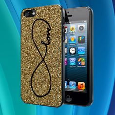 glitter infinity iphone case 01 - iPhone 4