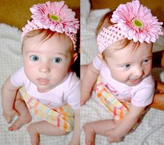 DIY Baby Flower Headbands - BabyCenter