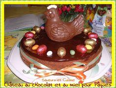 Gâteau au chocolat et miel pour les fêtes de Pâques, recette pas à pas ...