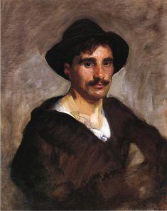 The Athenaeum - Gondolier (John Singer Sargent - ) 1905