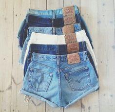 Mode / korte broeken / fashion / shorts / pants