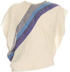 RACHEL COMEY Mora stripe tie-back top