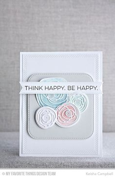 LJD Circle Scribble Flowers Die-namics, LJD Scribbles Die-namics, Totally Happy Stamp Set, Inside & Out Diagonal Stitched Rectangle STAX Die-namics, Inside & Out Stitched Rounded Square STAX Die-namics - Keisha Campbell  #mftstamps