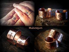 Artizani romani| Mestesugari romani| Inele handmade din cupru pentru cununie