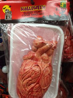 Blutiges Herz für einen Dollar und 25 gefällig?