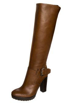 Cinti Platform boots marrone