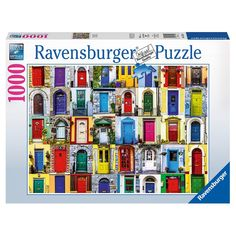 See the world in Doors of the World 1000 piece jigsaw puzzle. From 300 piece puzzles to the world's-largest Ravensburger Puzzle, 300 Piece Puzzles, Puzzle Pieces, Impossible Puzzle, World Puzzle, Puzzle Shop, Fantasy Images, Puzzle Toys, Disney Frozen