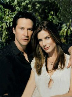 I think they have great chemistry | Keanu Reeves and Sandra Bullock Speed and Lake House