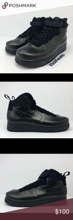 various colors cfbe5 15d9b Nike Air Force 1 Foamposite Cup Triple Black Shoes Nike Air Force 1 Men s  11 Foamposite Cup Triple Black Shoes AH6771-001 - Men s Sizes Available  10.5, 11, ...
