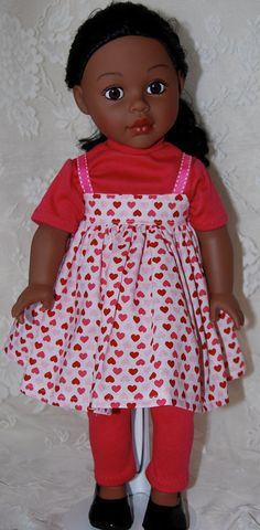 18 Inch Doll Clothes American Girl Doll  Dress by NammysCloset, $10.50
