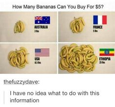 Plan; buy a bunch (pun kind of intended) in Ethiopia, and sell them in Australia