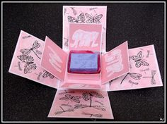 The Male Card Maker: Another Exploding Box and card