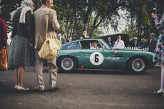 Beautiful Aston Martin - the epitome of classic style.