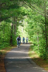 Ride beautiful bike trails