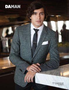 Alexander Koch suit tie windsor knot