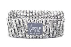 Love Your Melon Charcoal Speckled Cuffed Hat