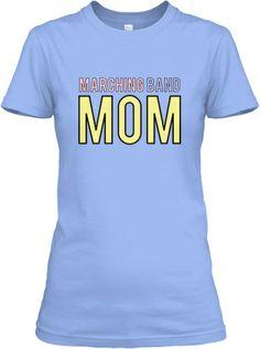 Teespring band t shirts on pinterest band mom for High school band shirts