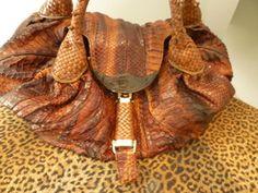 e5c865c27 FENDI CUSTOM DESIGN LIMITED EDITION Anaconda Python Handbag Buy It Now   4500.00