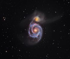 This penetrating look at the Whirlpool Galaxy won Australia's Martin Pugh top prize in the 2012 Astronomy Photographer of the Year competition.