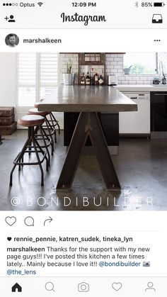 Reno, Dining Table, Kitchen, Furniture, Home Decor, Cooking, Decoration Home, Room Decor, Dinner Table
