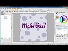 A quick tutorial to show you how easy it is to create your own background papers in CraftArtist 2 Professional. You can use either CraftArtist 2 or the free . Layer Pictures, Create Your Own Background, Artist Card, Computer Programming, Serif, Life Planner, Paper Background, Craft Tutorials, Happy Life