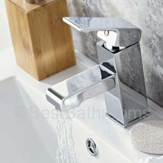 Enhance your modern bathroom with this stunning mono basin tap