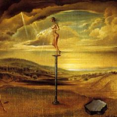 Dali always put the female naked body pitard. By Salvador Dali