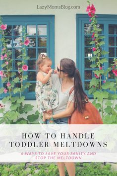 how to handle toddler meltdowns- 6 ways to save your sanity and teach kids to deal with their frustrations Step Parenting, Parenting Articles, Parenting Hacks, Practical Parenting, New Parents, New Moms, Terrible Twos, Raising Girls, Kids Board