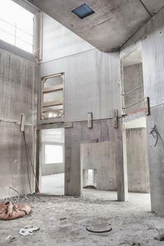 ENSICAEN   les travaux ont 4 mois d'avance - vib architecture   vialet + ballus   paris Alcove, Bathtub, Paris, Bathroom, Architecture, Standing Bath, Washroom, Arquitetura, Montmartre Paris