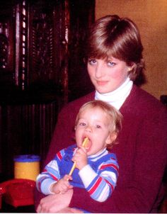 Diana's first job out of school was as a nanny for the daughter of Major Jeremy Whitaker. After moving back to London in 1978, Diana worked many odd jobs including a dance instructor, a pre-school assistant as well as a hostess. In 1980, she became the nanny for an American family living in London, the Robertsons, as she is pictured here with their son Patrick in 1980. It was also around this time that Diana grew close to Prince Charles, Prince of Wales, who actually dated her older sister…