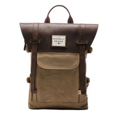 9839a4ce39 Tan Topside Leather Backpack | The Normal Brand Sac, Sacs À Dos, Poche,