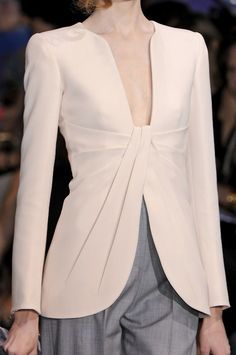 just add a camisole for work - Armani