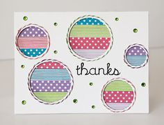 cards made with washi tape, from Stacy Cohen