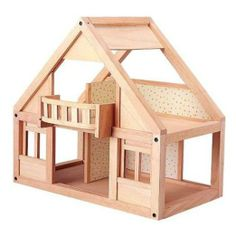 Amazon.com: Plan Toy My First Dollhouse: Toys & Games