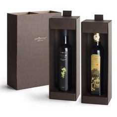 """$33.20 - Oil gift set """"Elite"""" - Selection containing: ▫ 1 bottle of extra virgin oliveoil 100% italian """"Amore dei Sensi"""" 0,50 L. #Typical of #Abruzzo, fruitage is mild, bitter and spicy are perfectly balanced. Great for fish, cheeses made with cow's milk and salads. ▫ 1 bottle of extra virgin oliveoil PDO (DOP) """"Secoli D'Amore"""" 0,50 L. A Superb oil typical of Abruzzo .Flavorful, bitter and spicy are well perceptible. Ideal for grilling meat, goat and sheep cheeses, fish soups and legumes…"""
