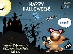 Enter to win an Entenmann's Halloween Prize Pack (arv $38)! Includes: Halloween tote bag, a Big Packs box of Chocolate Chip Muffins, and Coupons.