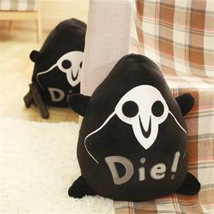 1pc 45*30cm Overwatches Reaper  Plush Pillow toys Around Rye Pioneer Pillow Figure logo Plush Seat cushion