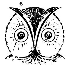 how to draw simple owl for kids