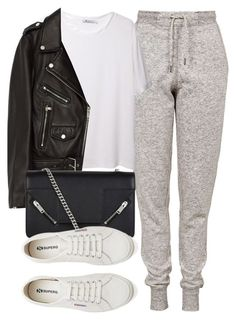 """Untitled #6603"" by laurenmboot ❤ liked on Polyvore featuring Topshop, T By Alexander Wang, Jakke, Yves Saint Laurent and Superga"