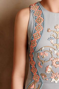 Royal Garden Maxi Dress - anthropologie.com #Gowns #Occasions #Cocktails