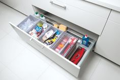 Kitchen Accessories, Storage and Lighting - Kitchen pan drawer storage divider - Discover more at…