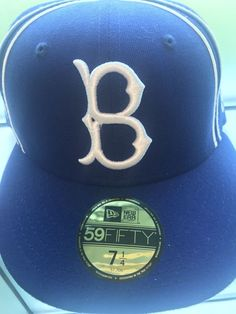 aed61439781 Brooklyn Dodgers MLB Authentic New Era 59FIFTY Fitted Cap - 5950 Hat Blue